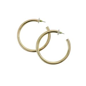 Michelle McDowell Hoop Earrings- Gold