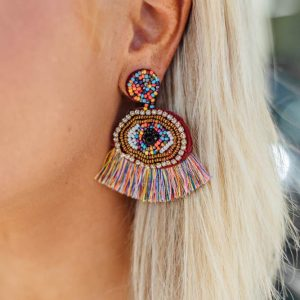 Statement Earrings- Multicolor