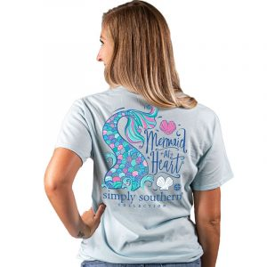 Simply Southern T-shirt-  Mermaid Ice