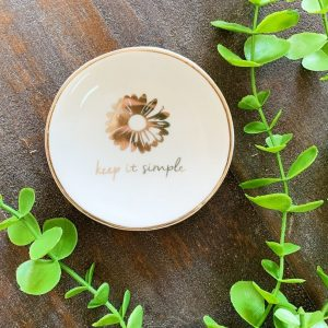 Karma Keep it Simple Trinket Tray