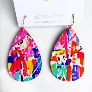 Audra Style Wendy Earrings- Abstract