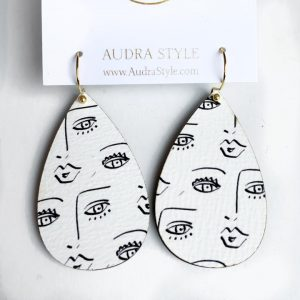 Audra Style Wendy Earrings- Face